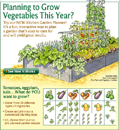 Gardener's Supply Company Veggie Plan